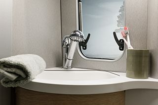 Hymercar Free 600 Bathroom Wash Basin