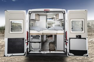 Hymercar Free 602 Bedroom Rear