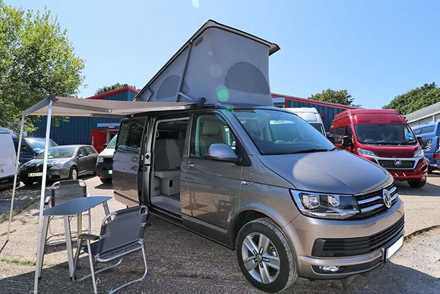 The Volkswagen T6 California Ocean