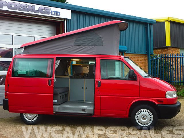 volkswagen westfalia t4 camper van guide campersales ltd. Black Bedroom Furniture Sets. Home Design Ideas