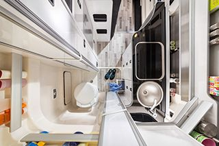 Westfalia Club Joker Bathroom