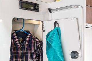 Westfalia Club Joker City Wet Room Storage