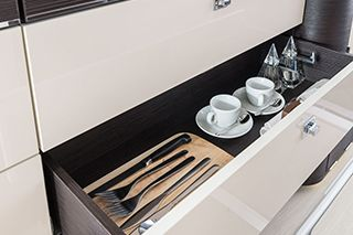 Westfalia Jules Verne Kitchen Storage