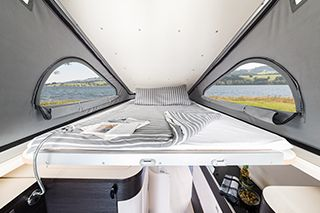 Westfalia Jules Verne Pop-Top Bed