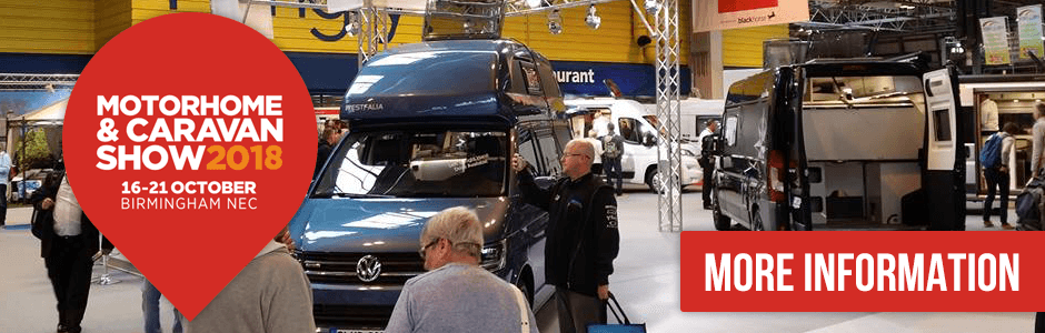 The Motorhome & Caravan Show 2018 at the NEC
