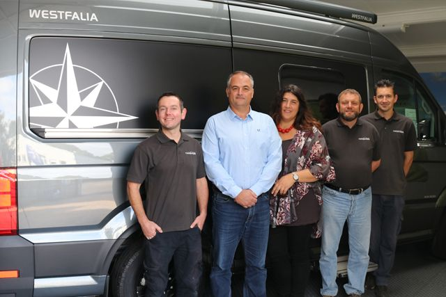 The team at Campervans Ltd